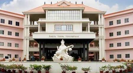 Andhra CM lays foundation stone of Amrita Vishwa Vidyapeetham's campus inAP