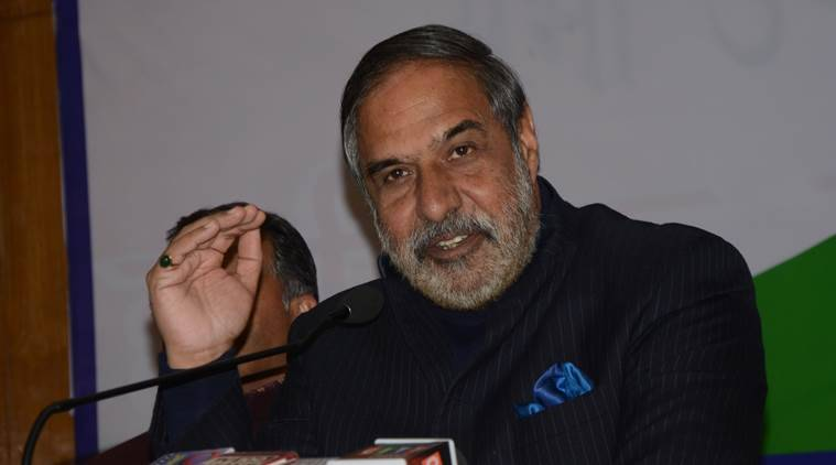 anand sharma, bjp vision document, meghalaya, north east, north east india, north east political news, nirmala sitharaman, shillong, indian express, congress leader anand sharma