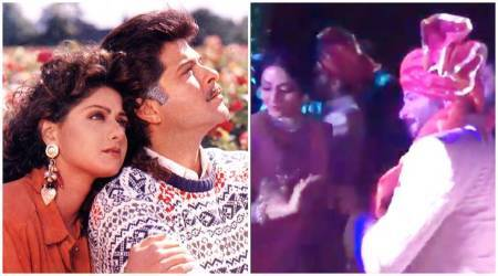 VIDEO: Sridevi and Anil Kapoor dancing together at Mohit Marwah's wedding will make you emotional