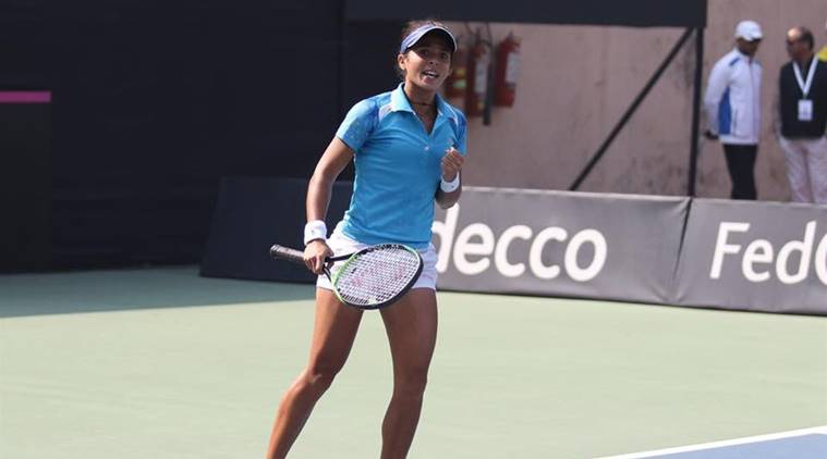 Ankita Raina, Fed Cup, Yulia Putintseva, fed cup results, Fed Cup updates, tennnis news, indian express