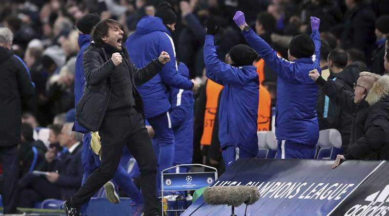 Chelsea drew 1-1 against Barcelona at Champions League