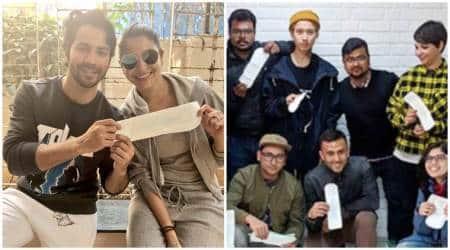 PadMan Challenge: Anushka Sharma, Varun Dhawan and Sonam Kapoor's rumoured beau Anand Ahuja joinin