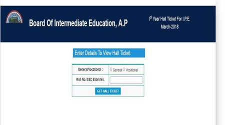 AP Intermediate 1st, 2nd year exam 2018 hall tickets released at jnanabhumi.ap.gov.in