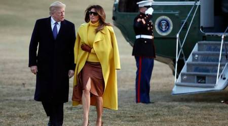 VIDEO: Did Donald Trump get snubbed by Melania as he tried to hold her hand, again? Twitterati think so