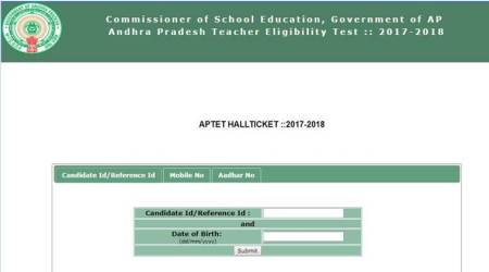 APTET 2017 admit card released at aptet.apcfss.in, know how to download hallticket