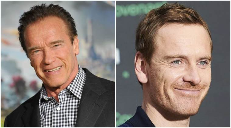 Michael Fassbender has a bash at action-comedy - with the Hoff