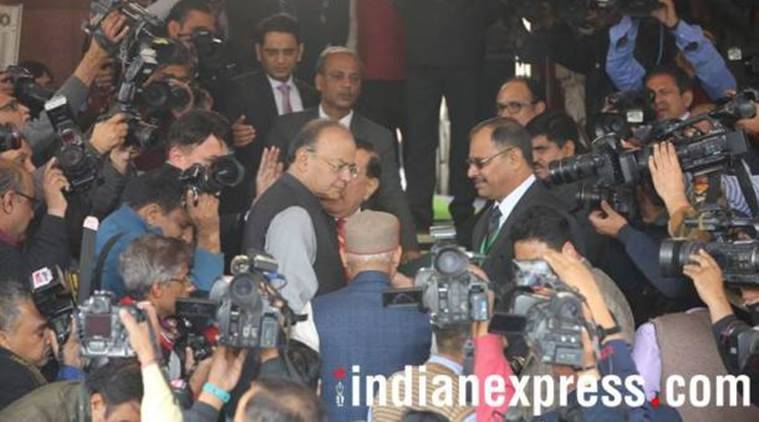 Arun Jaitley presents Union Budget 2018 at the Parliament