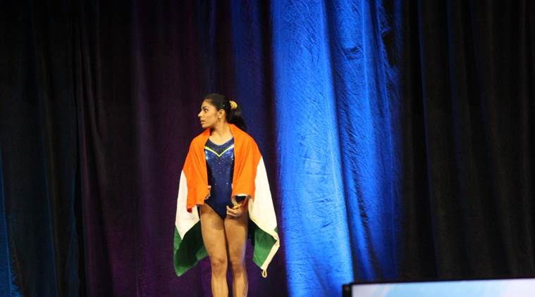 Aruna Budda Reddy clinches bronze at 2018 Gymnastics World Cup