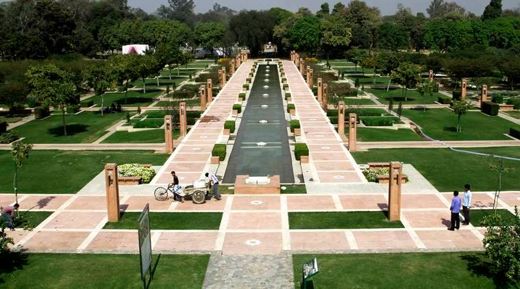 Delhi's lost scenic beauty comes to life: Sunder Nursery debuts as heritage  park | The Indian Express| Page 2