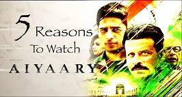 5 Reasons To Watch Sidharth Malhotra-Manoj Bajpayee Film Aiyaary