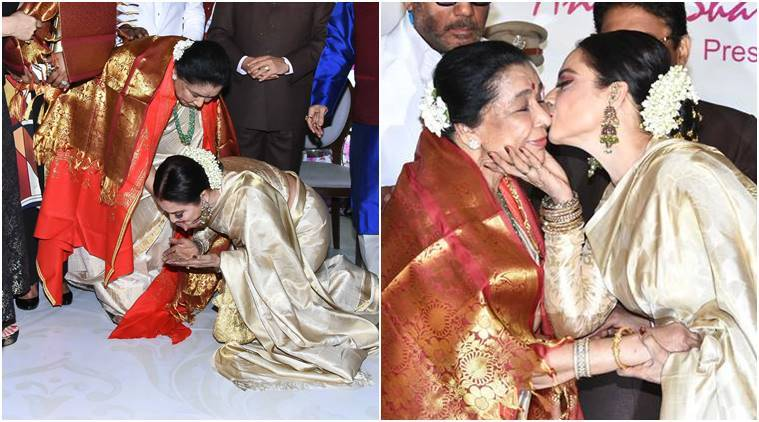 Legendary singer Asha Bhosle honoured with Yash Chopra Memorial Award