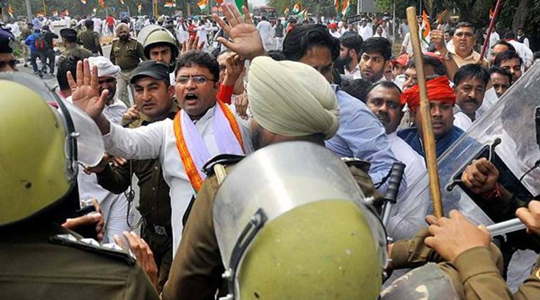Police briefly detains Haryana Congress chief Ashok Tanwar