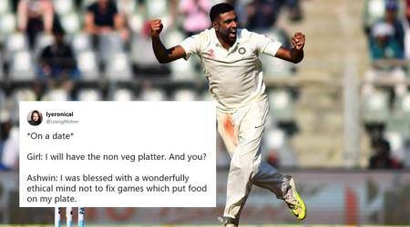 R Ashwin's bitter jibe at Herschelle Gibbs' joke leads to series of jokes on Twitter