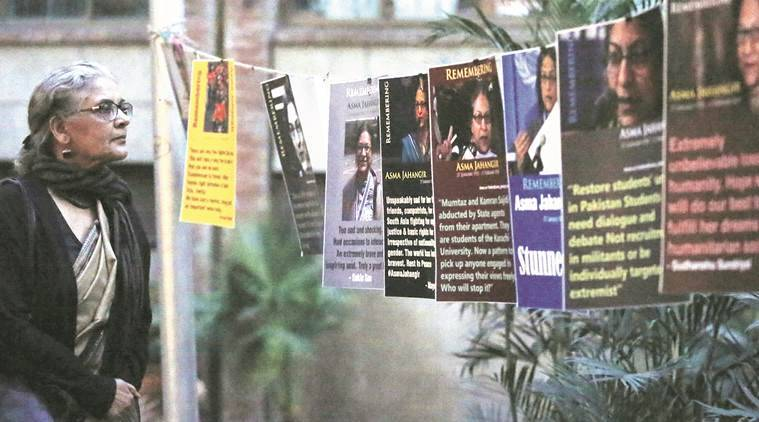 Delhi pays tribute to Asma Jahangir