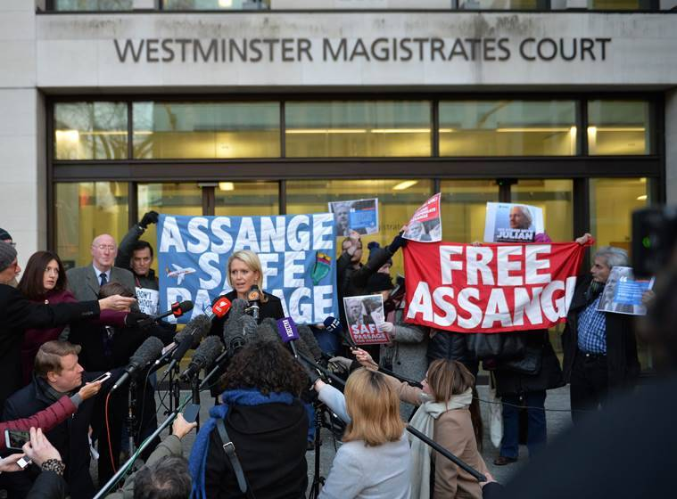 London court to rule on action against WikiLeaks' founder Julian Assange