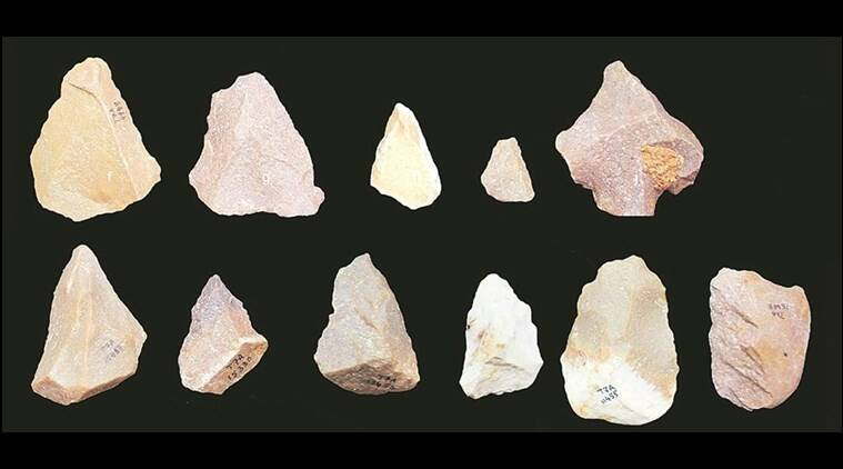 Attirampakkam, archealogical site in Chennai,Attirampakkam artefacts, Chennai excavation sites, Acheulian industry, out of Africa thoery, Indian Express Explained