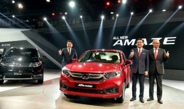 Commenting on Amaze's launch, Nakanishi said the second generation of the compact sedan is built on an all new platform.