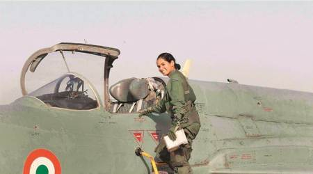 Avani Chaturvedi, India's first woman fighter pilot, Indian Air Force, International Woman's Day, Women Fighter Pilots, India women in combat roles, Indian Express