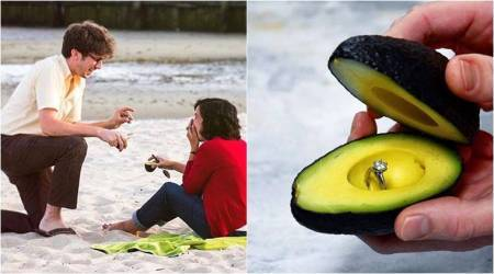 Say 'I love you' with avocado: Instagrammers are in love with this new proposal trend