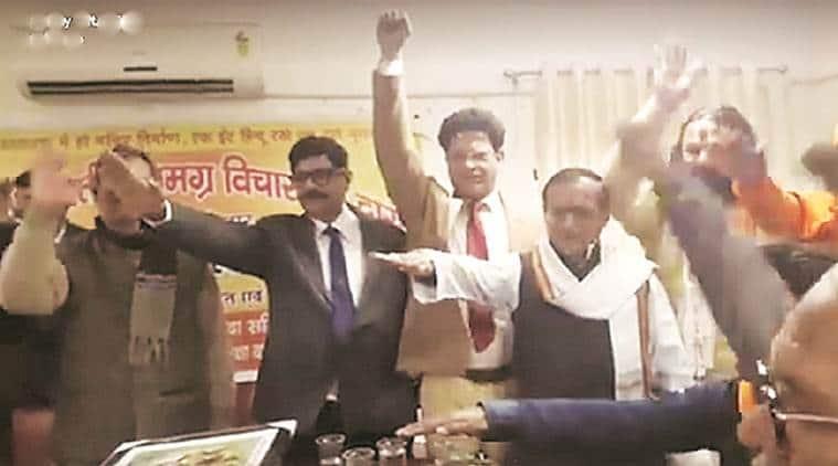 An IPS officer Surya Kumar Shukla in Uttar Pradesh pledged to build Ram Mandir in Ayodhya