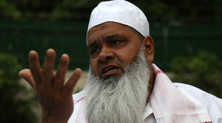 AIUDF chief Badruddin Ajmal apologises after threatening journalist