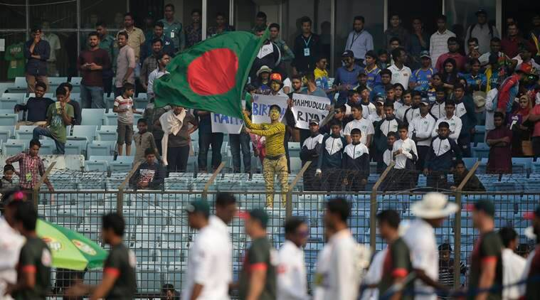 Haque first Bangladesh batsman to score hundred in both innings