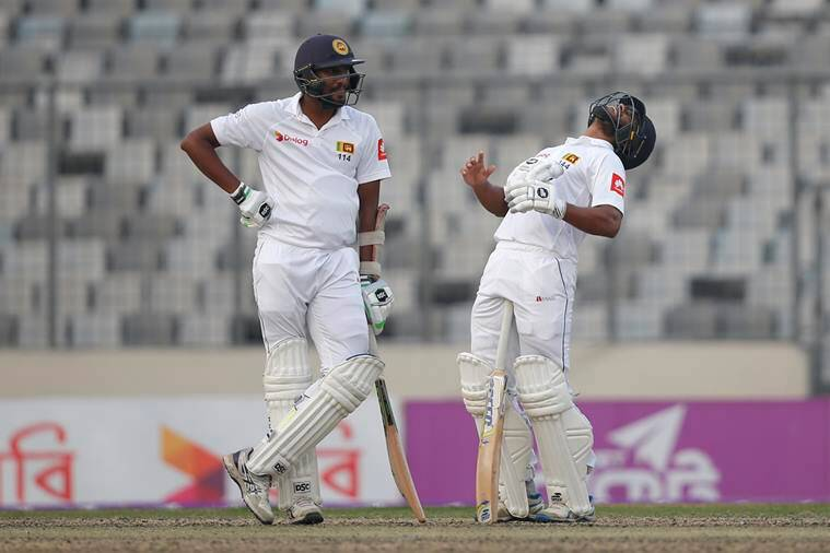 Sri Lanka build lead in second Bangladesh Test