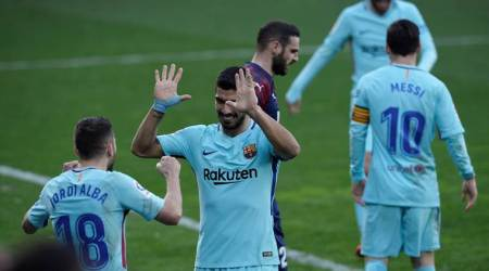 Barcelona warm up for Chelsea Champions League match with 2-0 win over Eibar