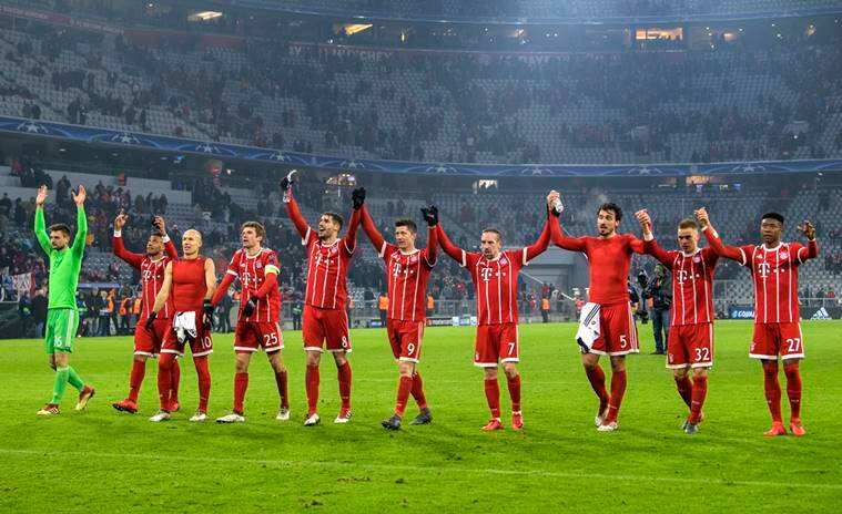 Bayern Munich 1/6 to beat Besiktas in Tuesday's Champions League clash