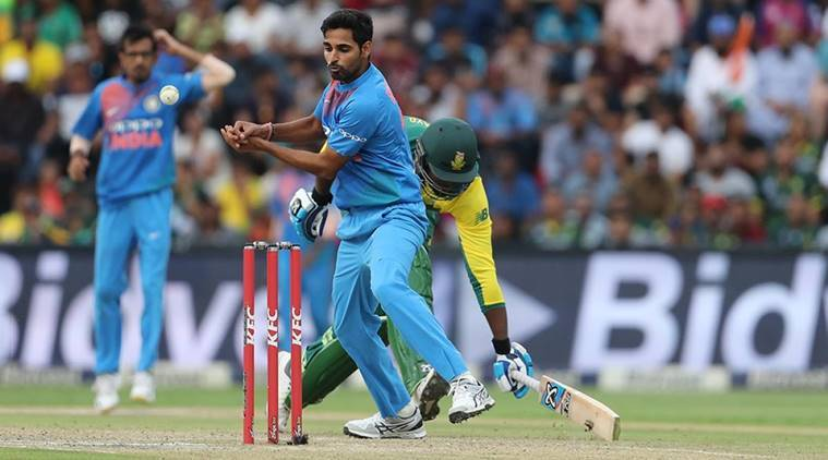 Bhuvneshwar Kumar, Jasprit Bumrah, MSK Prasad, indian cricket team, T20 tri-series, sports news, cricket, Indian Express
