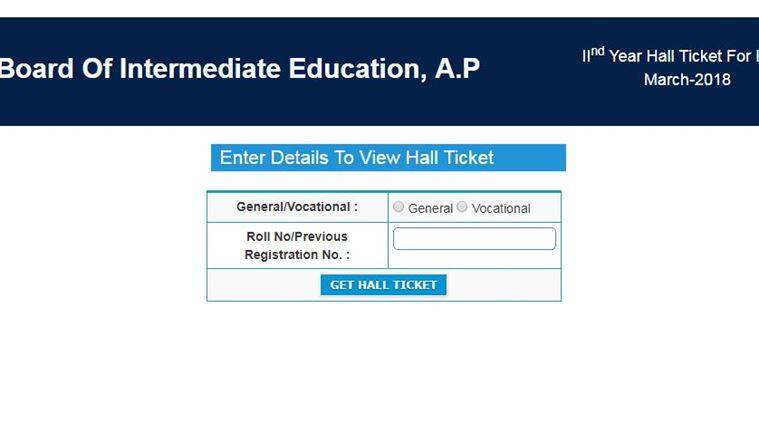 BIEAP 1st, 2nd year exam hall tickets: Steps to download