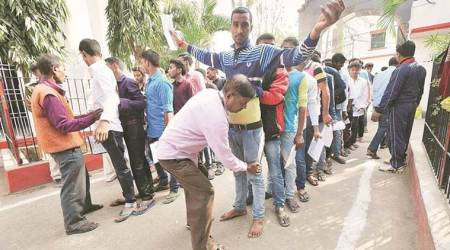 Shoes pile up outside Bihar exam centres, debate rages on board's new no-shoesrule