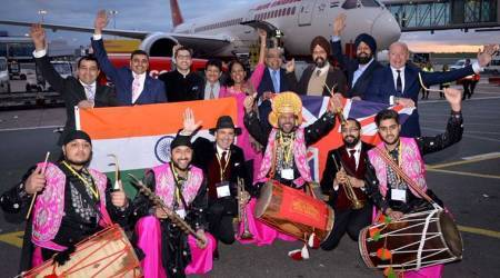 VIDEO: Dhol players surprise passengers as Air India resumes non-stop flights for Amritsar-Birmingham after 8 years