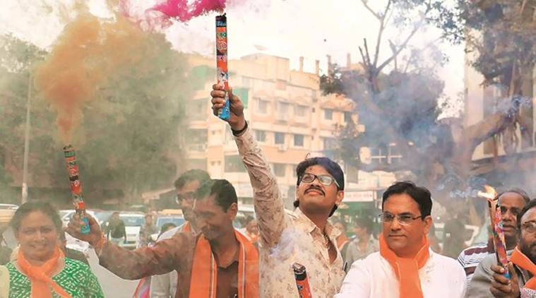 Guj civic polls: BJP continues to cede ground to INC