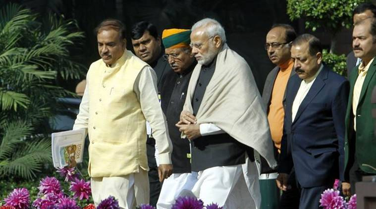 BJP parliamentary meet for general elections 2019