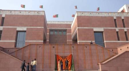 PM Modi inaugurates BJP's new headquarters at New Delhi's Deen Dayal Upadhyay Marg