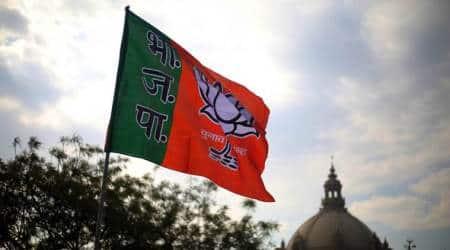 gujarat, rajkot municipal corporation, bjp, congress, nitin ramani, sanjaysinh vaghela, indian express news