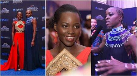 Black Panther South Africa Premiere: Lupita Nyong'o and Danai Gurira proudly showcase their film