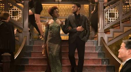 Black Panther, Black Panther Welcome to Wakanda, Black Panther NY fashion week, Black Panther release date, Black Panther fashion, indian express, indian express news