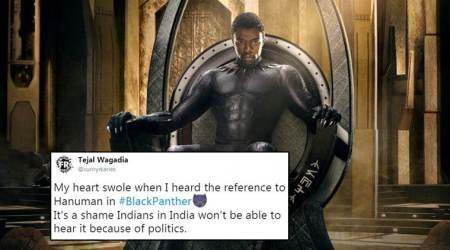 Black Panther fans in India angry over beeping out the Hanumanreference