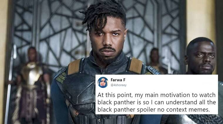 Funny Meme Black Panther : Watch black panther if you haven't already because the internet is