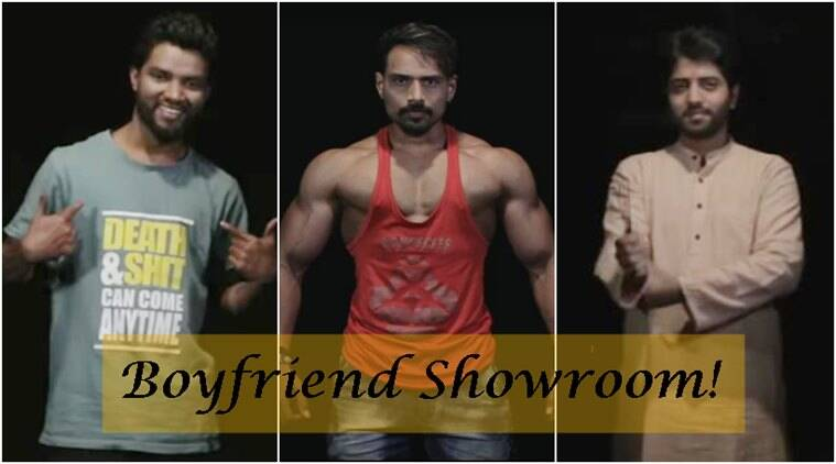 boyfriend showroom, what women want, video of boyfriend showroom, PDT boyfriend showroom clip, viral video, Indian express, Indian express news