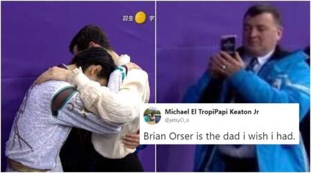 'Proud dad': Canadian figure-skating coach Brian Orser's pictures at Winter Olympics 2018 goviral