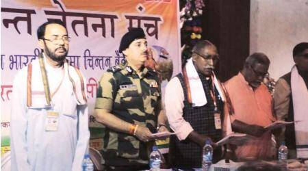 Event on border issues: BSF DG KK Sharma attends RSS-affiliate meet