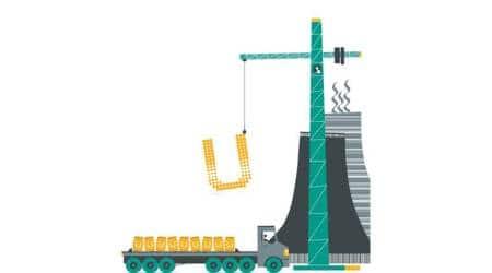 Nuclear power: Uranium shipments hold up, but blip ingeneration