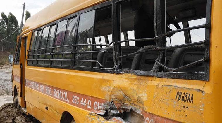 Chandigarh school bus accident