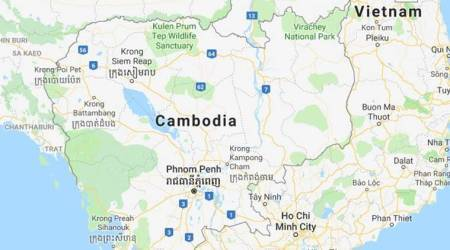 Floodwater released by Chinese dam in Cambodia submerges village