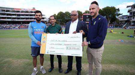 Virat Kohli and co. donate for Cape Town water crisis