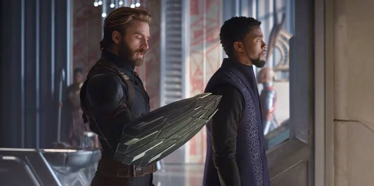 Captain America and Black Panther in Avengers: Infinity War trailer