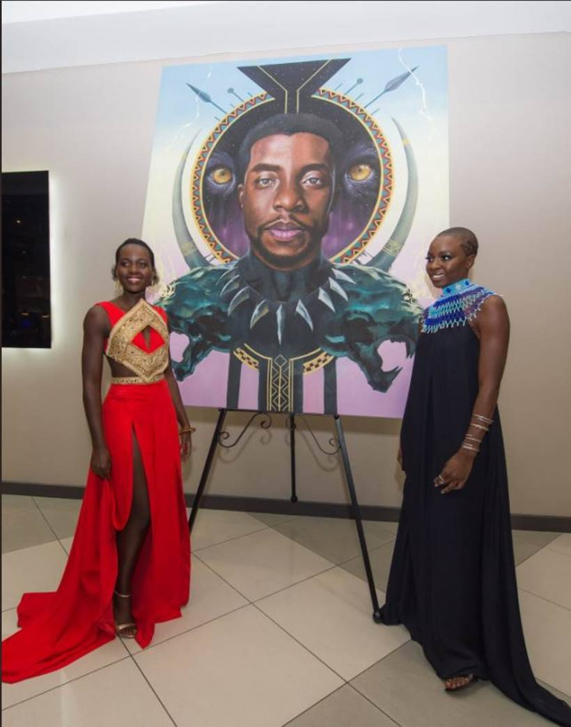 black panther south african premiere